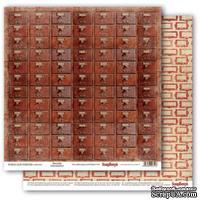 Бумага для скрапбукинга от ScrapBerry's - Архив - Архив, 30,5х30,5 см., 190 гр/м, двусторонняя