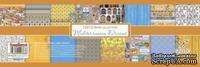 Набор бумаги для скрапбукинга - Средиземноморье, англ.язык, 30,5х30,5 см, 190 гр/м, 8 двусторонних листов