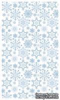 Набор натирок Снежинки 12*20 см SCB 22062054 от ScrapBerry's