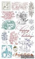 Набор натирок 12*20см Рождество-3 от ScrapBerry's