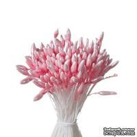 Тычинки двусторонние, розовые 55*1мм, 144 шт.