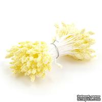 Тычинки двусторонние, желтые, 55*3мм, 144 шт.