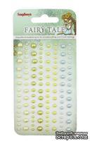Клеевые полужемчужинки от ScrapBerry's - Fairy Tale, 120 шт, 4 цвета