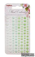 Клеевые полужемчужинки от ScrapBerry's - Floral  Embroidery - Цветочная вышивка, 120 шт, 4 цвета