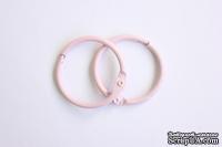 Кольца для альбомов от ScrapBerry's, 2 шт., розовый, 30 мм.