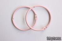Кольца для альбомов от ScrapBerry's, 2 шт., розовые, 50 мм.