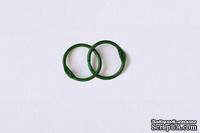 Кольца для альбомов, 2 шт., цвет: зеленый 20 мм SCB 2504720
