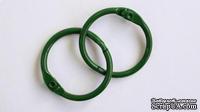 Кольца для альбомов, 2 шт., цвет: зеленый 35 мм SCB 2504735