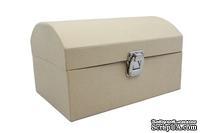 Заготовка коробки из папье-маше от Scrapberry's - Шкатулка, 21x15x12,5 см