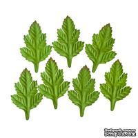 Набор листиков из шелковичной бумаги, 7 шт., кустарник