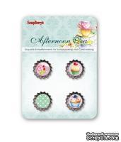 Набор декоративных пробок от Scrapberry's - Полуденный Чай - ScrapUA.com