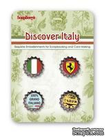 Набор декоративных пробок от Scrapberry's - Итальянские каникулы
