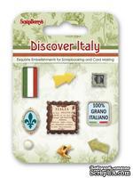 Набор декоративных брадсов от Scrapberry's - Итальянские каникулы