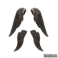 Набор ангельских крыльев, серебро