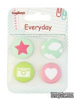 Набор декоративных элементов от Scrapberry's-  День за Днем 1