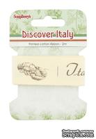 Лента декоративная  от Scrapberry's - Итальянская кухня, 25мм, 2м, хлопок