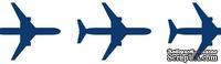 Бумажный скотч с принтом Вокруг Света, Самолеты, 15мм*8м SCB490003