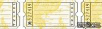 Бумажный скотч с принтом Дорожные бирки 15мм*8м SCB490004