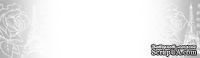 Прозрачный пластиковый скотч с принтом Эйфелева башня 15мм*10м SCB490030