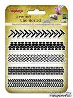 Набор штампов  от ScrapBerry's - Вокруг света. Следы - ScrapUA.com