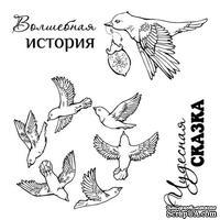 Набор штампов от Scrapberry's - Сказка о феях. Волшебная история, 10,5 x 10,5см
