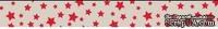Бумажный скотч с принтом  от Scrapberry's - Старый цирк. Звездочки, 15мм x 8м