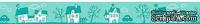 Бумажный скотч с принтом  от Scrapberry's - Зайка Mi. Городок, 15мм x 8м