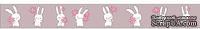 Бумажный скотч с принтом  от Scrapberry's - Зайка Mi, 15мм x 8м
