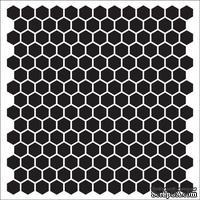 Маска Соты 15,2*15,2см толщина 0,31мм SCB53100012