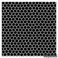 Маска Соты 15,2*15,2см толщина 0,15мм SCB53100013