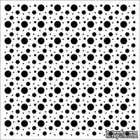 Трафарет Пузыри 15,2*15,2см толщина 0,15мм SCB53100017