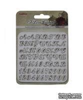 Набор вырубок с чипборда №1 от ScrapBerry's - Готовим Дома, алфавит, 10x10см