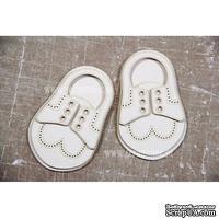 Чипборд Scrapiniec - Обувь мокасины мальчиковые