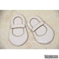 Чипборд Scrapiniec - Обувь босоножки девочки без украшений и с застежкой узкой