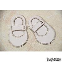Чипборд Scrapiniec - Обувь босоножки девочки без украшений и застежкой широкой с прорезями
