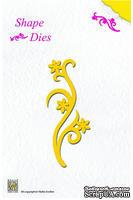Лезвие Nellie Snellen Shape Dies - Flower Swirl