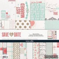 Набор скрапбумаги и декора Teresa Collins - Save the Date - Collection Pack
