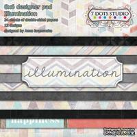 Набор бумаги  от 7 DOTS STUDIO - Illumination - 15x15 см