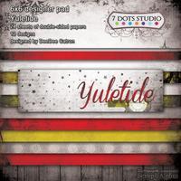 Набор двусторонней скрапбумаги от 7 Dots Studio - Yuletide, 15x15 см, 24 листа