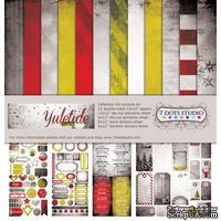Набор двусторонней скрапбумаги от 7 Dots Studio - Yuletide - Collection Kit, 12 шт