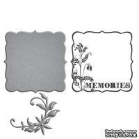 Нож для вырубки  + штампы от Spellbinders - Donna Salazar Designs - Memories