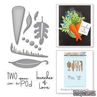Нож для вырубки+штампы от Spellbinders - Peas and Carrots