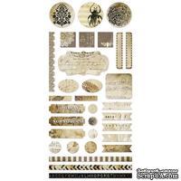 Лист наклеек от 7 DOTS STUDIO - Nature Walk - 30x15 см