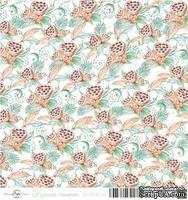 Лист скрапбумаги от ScrapEgo - Лотосы, Крошка-сыночек, 30,5х30,5см