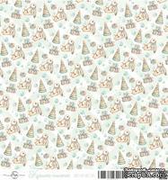 Лист скрапбумаги от ScrapEgo - Зайка, Крошка-сыночек, 30,5х30,5см