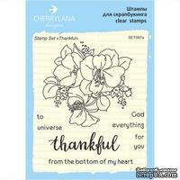 "Набор штампов от Cherrylana - ""Thankful"""