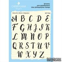 "Набор штампов от Cherrylana - ""Modern Calligraphy"" англ, заглавные"