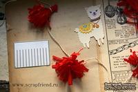 Нож для вырубки от Scrapfriend - Кисточка/Бахрома для пиньяты, 6,2x4,8см