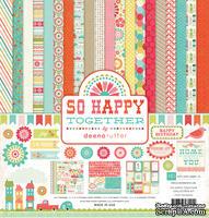 Набор бумаги от Echo Park - So Happy Together, 30х30 см