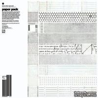 "Набор бумаги от Basic Grey ""Basic White - Paper Pack"""